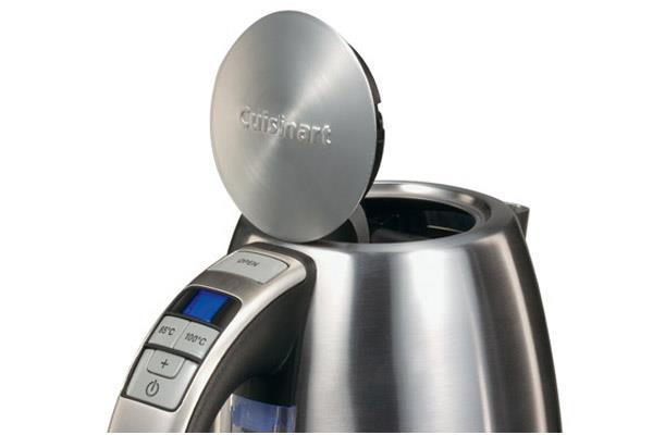Bouilloire à température réglable : design, mais pas seulement ...