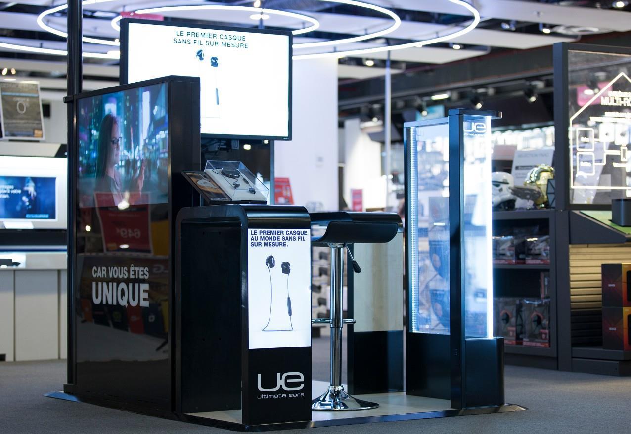UE Custom : Ultimate Ears lance un casque sur mesure en