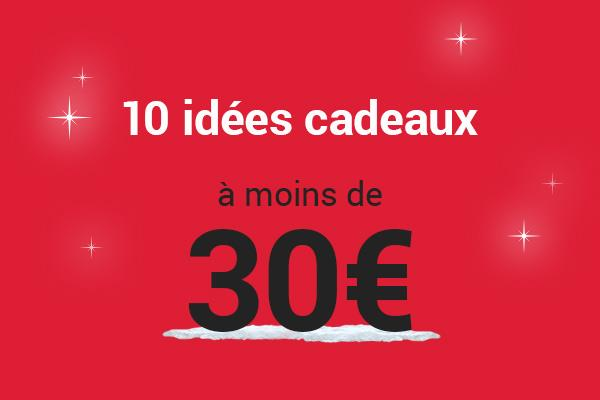 Idée Cadeau 30 Euros 10 idées cadeaux High Tech pas cher pour un budget de moins de 30