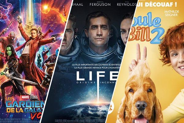 Top 10 des sorties ciné d'avril 2017 : ne te découvre pas d'un film