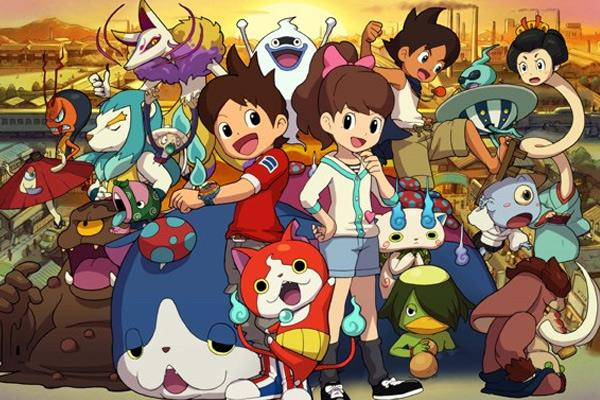 Yo kai watch 2 la licence ph nom ne revient sur 3ds for Salle de bain yo kai watch 2