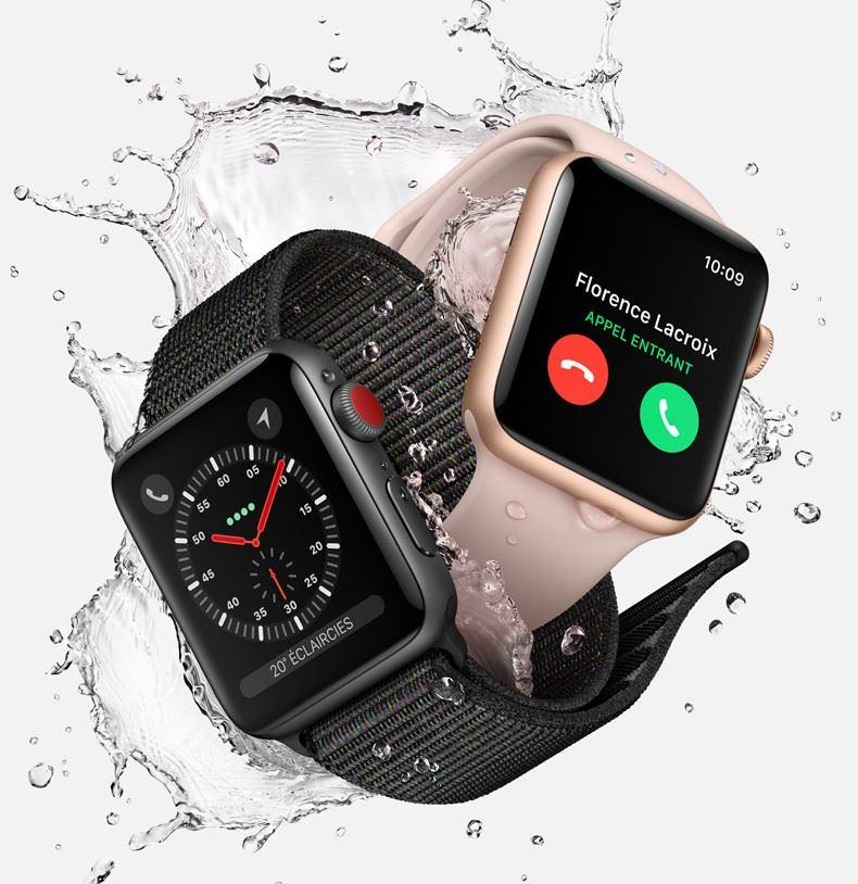 apple watch series 3 la montre connect e totalement autonome conseils d 39 experts fnac. Black Bedroom Furniture Sets. Home Design Ideas