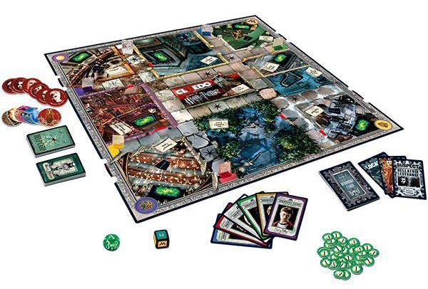 Harry Potter Cluedo mystère Board Game