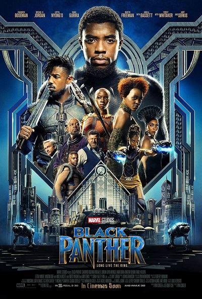 black panther affiche film marvel