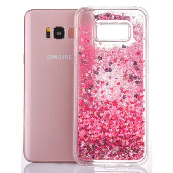 coque samsung galaxy s6 edge transparente paillette