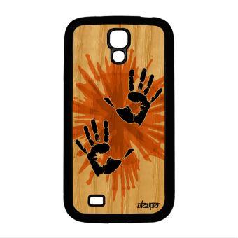 cda231261f Coque en bois silicone pour Galaxy S4 mini main smartphone pas cher deux  Samsung - Etui pour téléphone mobile - Achat & prix | fnac