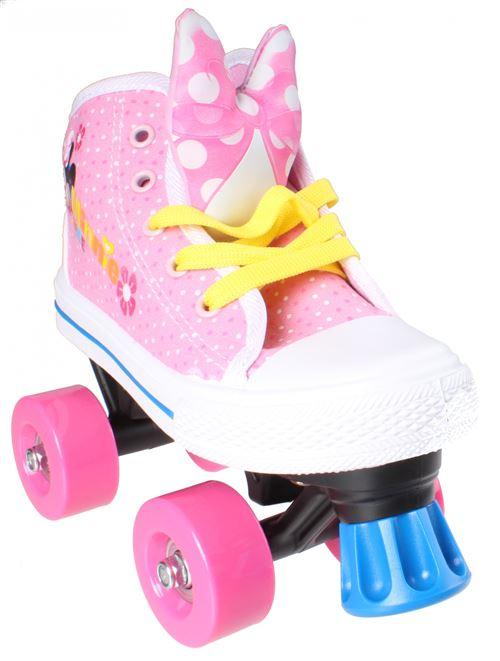 Disney patins à roulettes Minnie Mouse filles rose/blanc