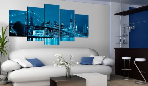 Tableau - At a glance .Taille : 200x100