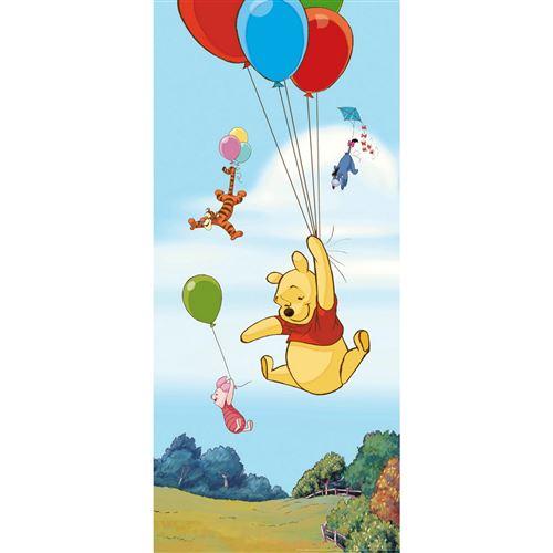 Poster porte Winnie l'Ourson Ballon Disney intisse 90X202 CM
