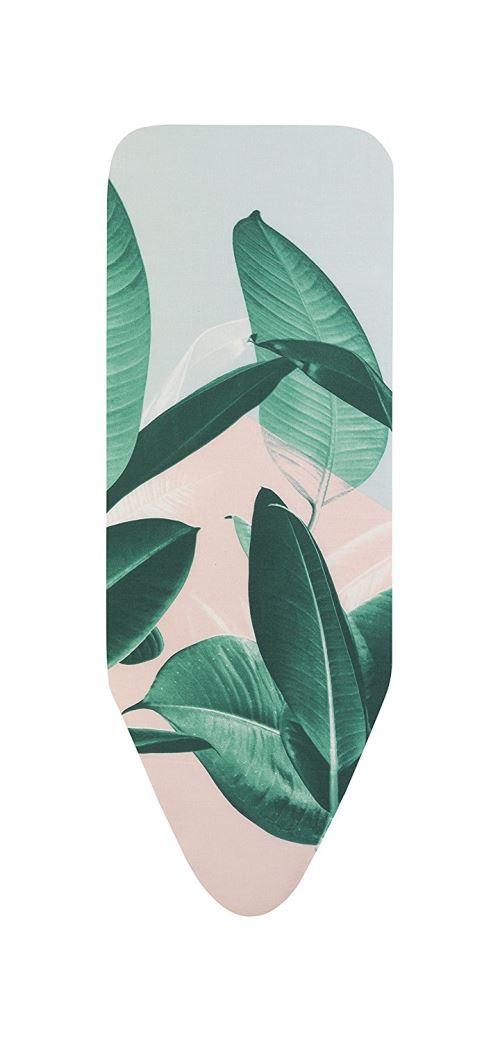 Brabantia - 118920 - Housse Pour Table À Repasser C, 124 X 45 Cm, Tropical Leaves