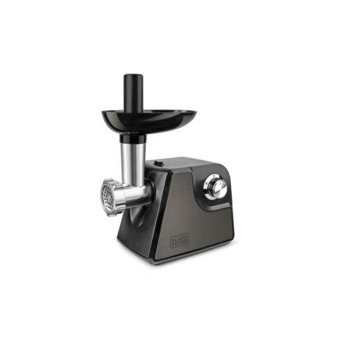Black + Decker Bxmm1000e Hachoir A Viande 1000 W - 2 Vitesses + Reverse - Noir