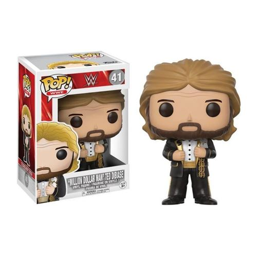 Figurine WWE Million Dollar Man Ted Dibase Pop 10cm