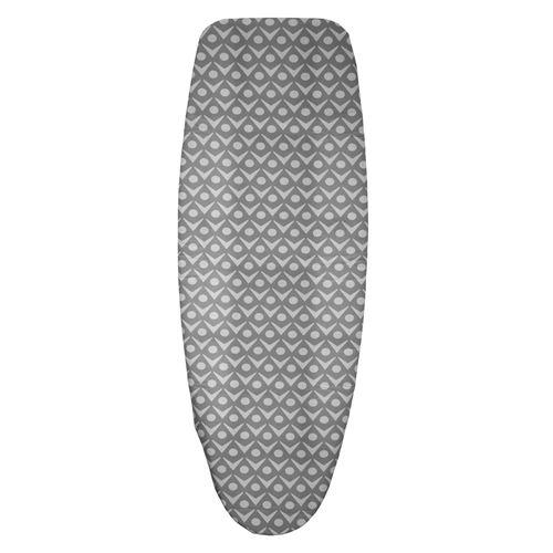 Clean house - Housse de table à repasser - Triple épaisseur - T2 - Gris clair - Gris
