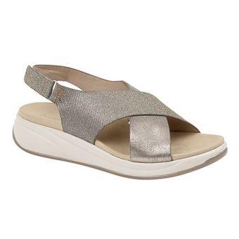 c61e521303653 -11€46 sur Boulevard - Sandales - Femme (36 EU) (Etain/Or) - UTDF1345 -  Chaussures et chaussons de sport - Achat & prix | fnac