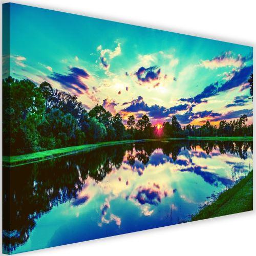 Image sur toile Tableau moderne mural Cadre Canevas Lever de soleil 3 60x40