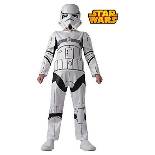 Star Wars Déguisement Stormtrooper+Masque 7-8 ans