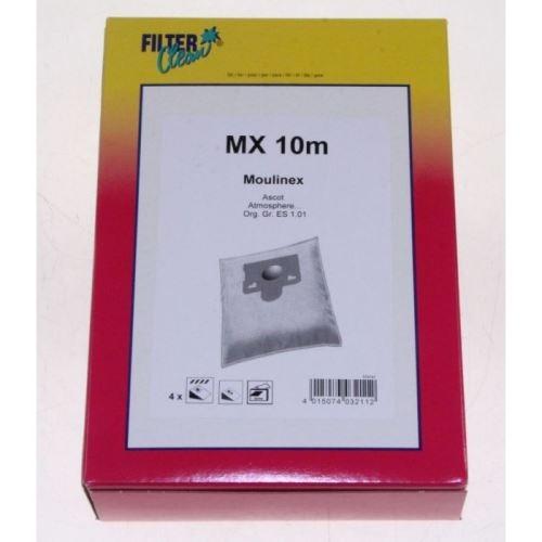 Mx10m 4 sacs aspirateur + 1 filtre - d324541