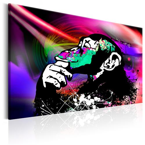 Tableau - Colourful Party - Décoration, image, art | Animaux divers | 60x40 cm |