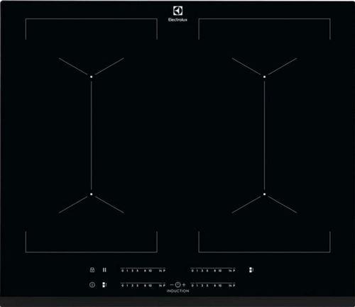 Electrolux SÉRIE 700 IPE6454KF - Table de cuisson à induction - 4 plaques de cuisson - Niche - largeur : 56 cm - profondeur : 49 cm - noir - noir