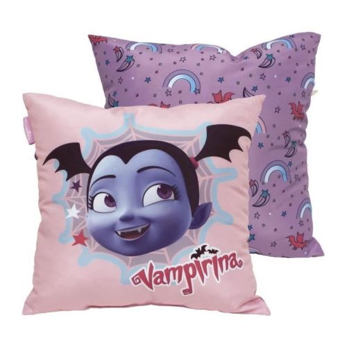disney coussin carré carré confort vampirina - 40x40 cm