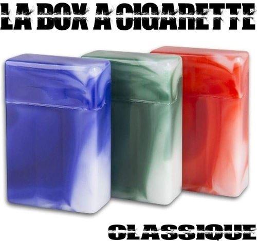 Box à cigarette classique Vert