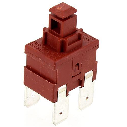 Interrupteur 4 cosses marche - arret pour Lave-vaisselle Brandt, Lave-vaisselle Curtiss, Lave-vaisselle Proline, Lave-vaisselle California, Lave-vaiss