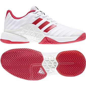 free shipping f25e7 391d5 Chaussures adidas Barricade 2018 Blanc 41 13 - Chaussures et chaussons de  sport - Achat  prix  fnac