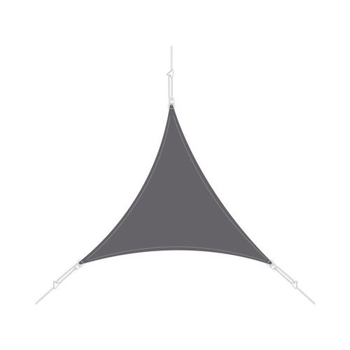 Easy Sail - Voile d'ombrage triangle 4x4x4m ardoise