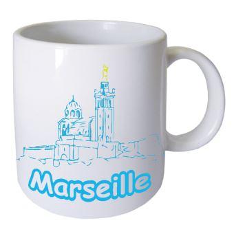 Tasse en céramique Marseille Cbkreation