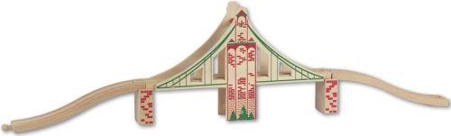 Beeboo - 0021120 - accessoire train en bois - pont suspendu