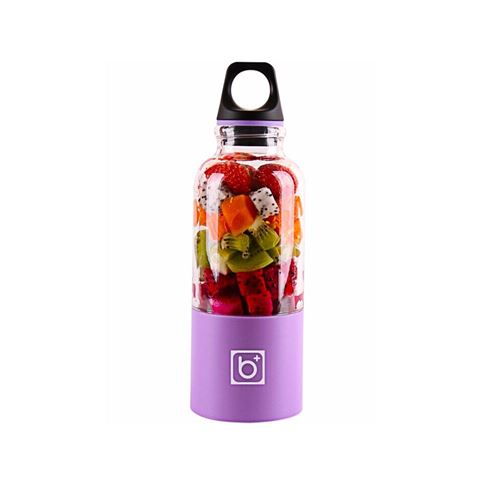 Juicer Blender Portable 500 Ml Électrique Rechargeable Avec USB Chargeur Câble Pour Fruits Légumes Violet