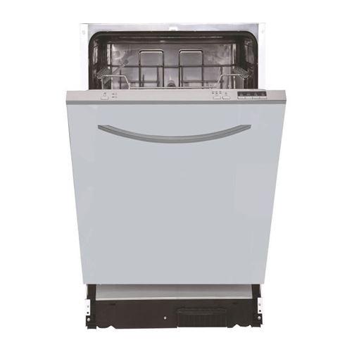 Continental Edison Celv1047fi2 - Lave Vaisselle Tout Encastrable - 10 Couverts - 47 Db - A+ - Larg 45 Cm