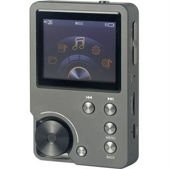 Renkforce MP3-Player RF-MP3-2000 0GB anthracite High-Resolution Audio