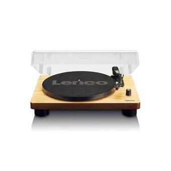 lenco ls 50 tourne disque avec bo tier en bois et haut parleur usb conversion vinyle. Black Bedroom Furniture Sets. Home Design Ideas