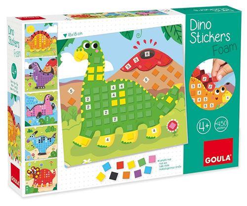 Apprendre les numéros et les couleurs avec Dino Goula
