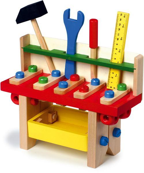 Établi Professionnel en bois pour enfant - 7754