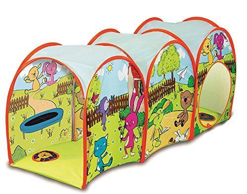 EBTOOLS Tunnel Activit/é Tunnel de Jeu Tente pour Enfants Tunnel Rampant B/éb/é Pliable Jouet Domestique Camping Jeu Loisirs pour Enfant Multicolore Respirant avec Sac de Transport