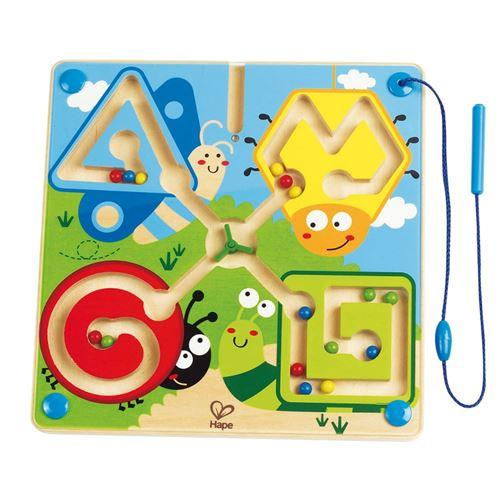 Hape jeu d'adresse Best Bugs Magnetic Maze 25 cm
