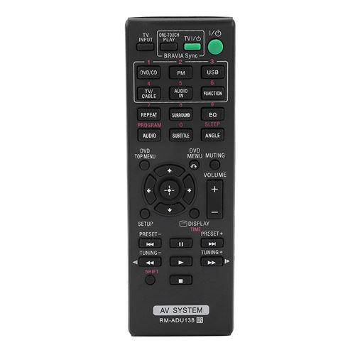Télécommande de Remplacement pour système audiovisuel Sony RM-ADU138
