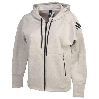 fc2e6baeb8 Vestes sweats zippés capuche Adidas W id stadium grc fz cap l Gris taille :  XS réf : 53406 - Vestes de sport - Achat & prix | fnac