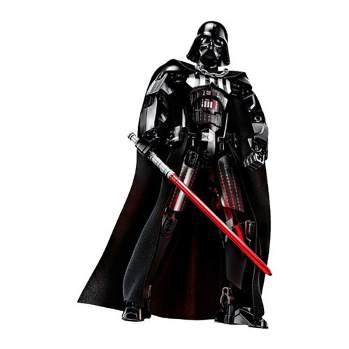 Figurine Star Wars Darth Vader Assemblage de blocs de construction jouet d'action pour enfants 31 cm