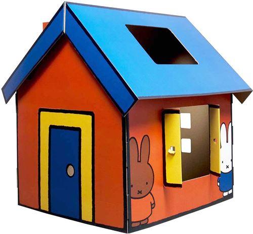 Mister Tody - Maison en carton à construire Miffy