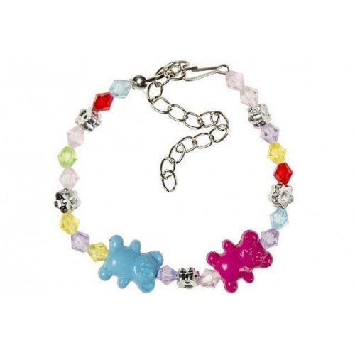 2 Bracelet Ourson Enfant Bijoux Fantaisie Mode