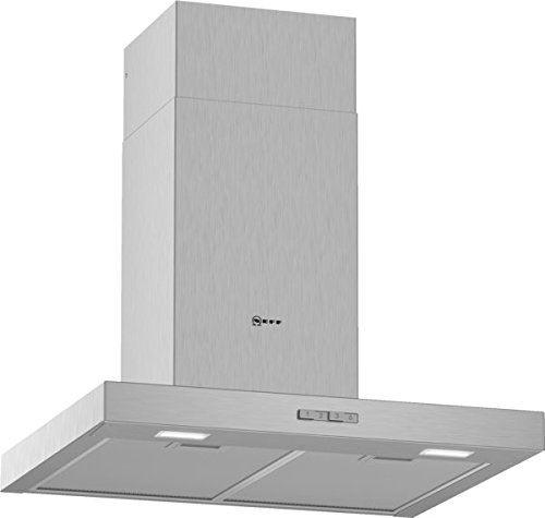 Neff d62bbc0 N0 Hotte/Hotte murale/60 cm/Double flutiges haute performance Ventilateur/Acier inoxydable [Classe énergétique D]