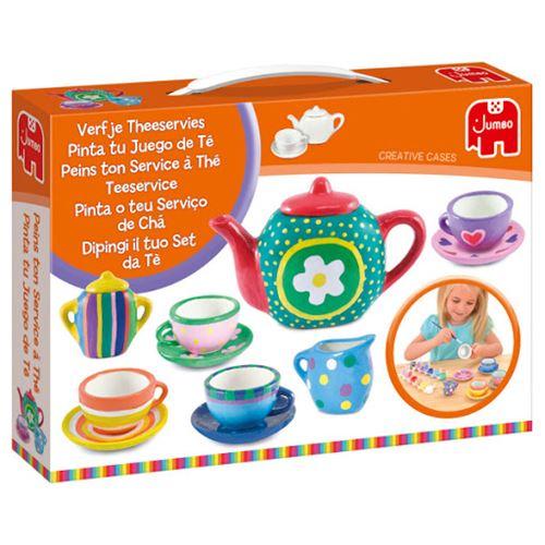 Jumbo peignez votre service à thé 15 pièces