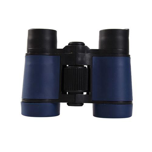 Télescope Jumelles 4X30 en caoutchouc antichoc réglable mini enfants légers -Multicolor