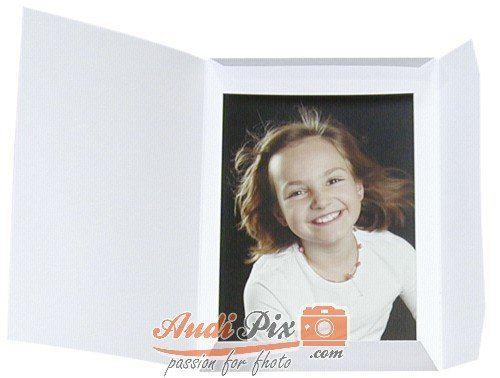 Daiber – 1 x 100 Classeur pour portrait Sprint-Line 15 x 20 blanc