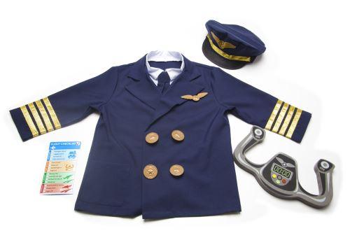 Melissa & doug llc - 18500 - déguisement pour enfant - costume de pilote