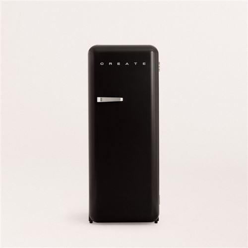 RETRO FRIDGE 150 NOIR MATE - Réfrigérateur