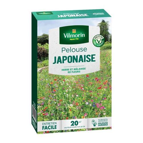 vilmorin semences de pelouse japonaise - mélange de fleurs annuelles